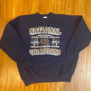 Vintage University of Northern Colorado Sweatshirt